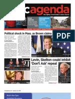 dcagenda.com - vol 2, issue 4 - january 22, 2010