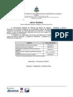 Nota Tecnica - Calendario de Reaplicacao Das Provas de Nivel Fundamental