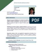 CV Inma Arguelles