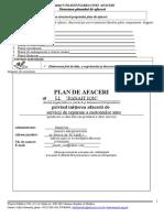 Model Plan de Afaceri