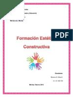 Formacion Constructiva. Grupo v. e.e.