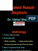 5 Deviated Nasal Septum