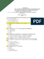 Agenti de politieFONETIC¦, VOCABULAR, ORTOGRAFIE, ORTOEPIE +I PUNCTUA¦IE