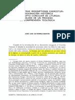 Concepto Conciliar de Liturgia (Gutiérrez. Martín)