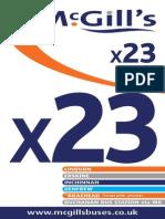 McGills TT X23