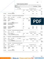 Analisis Costos Unit