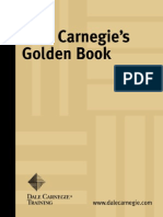 Dale Carnegie´s Golden Book