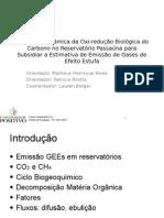Emissão de Gases de Efeito Estufa - Passaúna