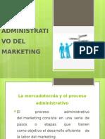 Proceso Administrativo Del Marketing