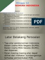 Minggu 12_Perekonomian Indonesia