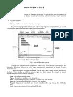 Lucrare 1 - Autocad.doc