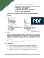 SIS009 Organizacion y Administracion de StmasiNFORM2014 II