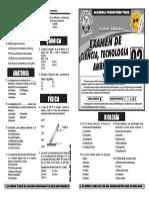Examen de CTA Ciclo VERANO 2014