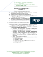 Propuesta Tecnica de estacion pesquera