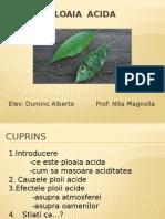 Ploaia  acida
