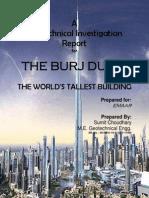 Geotechnical Investigation Report of Burj Khalifa