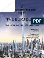 Geotechnical Investigation Report of Burj Khalifa