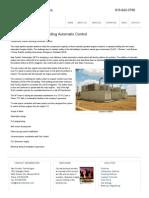 Compressor Station Building Automatic Control _ New Frontier Technologies ------ LASD vs ESD