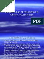 Memorandum of Association (1)