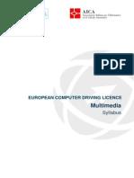 Syllabus ECDL V1 - Multimedia Completo - Ita