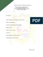 Determinacion de Pb e Aleaciones y Fe en Acero