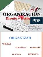 Organizacion diseño y estructura