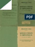 1929 - Armando Leça / Modas Corais e Orfeonicas