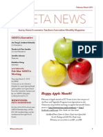 SHETA February March 2015 Newsletter