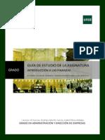 Guía IntroducciónFinanzas ParteII 2013-14