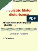 Motor Disturbance in Children.ppt