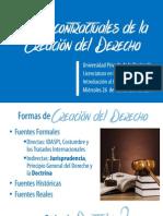 Formas contractuales del Derecho.