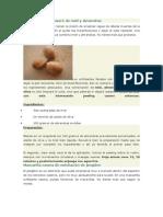 Exfoliante Facial Casero de Miel y Almendras