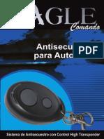 ALARMA CARRO Comando Aereo Manual
