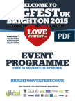 VegFest UK Brighton 2015 Programme