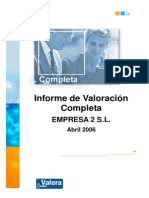 Informe de Valoracion Completa