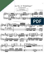 Sonata No.8 Pathétique 1ºMov. - L. V. Beethoven