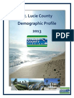 St. Lucie County Florida Demographic Profile