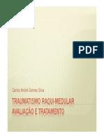 TRAUMATISMO RAQUI-MEDULAR (aval + trat)