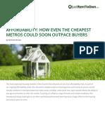 Housing Affordability Study