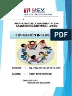 Trabajo Educacion Inclusiva