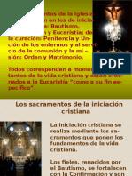 Presentacion Power Los Sacramentos de Iniciación