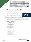 Configuring Zones and Zone Sets-CISCO