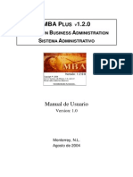 MBA-Manual del Usuario