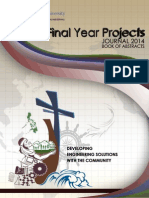 FYP Journal 2014