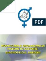 Ginecologie Curs 1 - Diagnosticul Sarcinii. Protocol Diagnostic Al Sarcinii in Trimestrul III