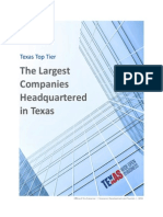 Texas Largest Companies