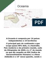 Oceania Apresentação