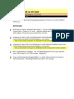 8e Mini Case Analytics
