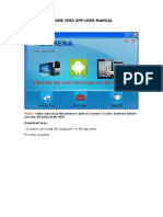 Ihone iPad App User Manual- ip cam