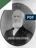 Lendrum Landrum Family Westmoreland County Virginia